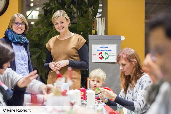 Anja Güll (Dritte von links) vom Landratsamt (Foto: René Ruprecht)
