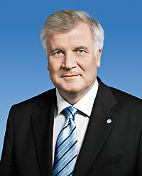 Ministerpräsident Horst Seehofer (Foto: Bay. Staatskanzlei, München. Verwendung m. freundl. Genehmigung.)