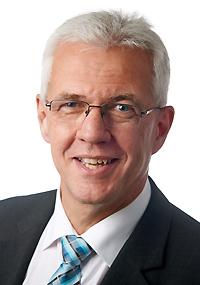 Grußwort Günther Werner, 1. Bürgermeister von Haßfurt (Foto: Stadt Haßfurt, Verwendung mit freundl. Genehmigung)