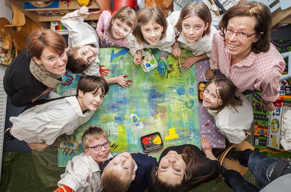 Logis und Inspiration: KUNSTnacht im MGH-Kinderhotel, Außenstelle Ebern