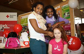 """""""Familienstyling afrikanisch"""" auf der Familienmesse 2013 in Knetzgau"""