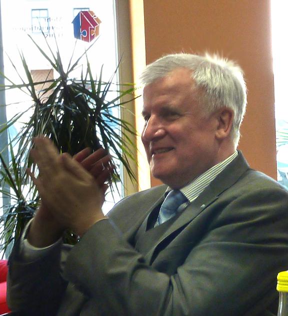 Ministerpräsident Horst Seehofer zu Besuch im MGH