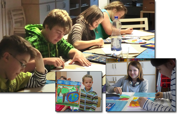 Faber Castell JugendKUNSTschule im MGH