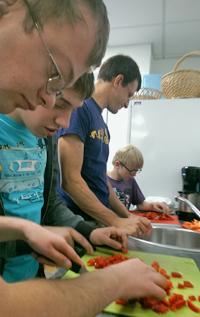 Vielfalt mit Genuss - Gemeinsam Kochen mit der Lebenshilfe Haßberge