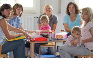 Kleine Kinder frühzeitig fördern
