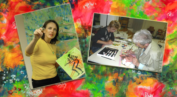 Malerei und Musik