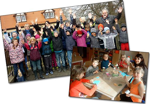 Reise in die Welt der Sinne - Osterferienprogramm 2013