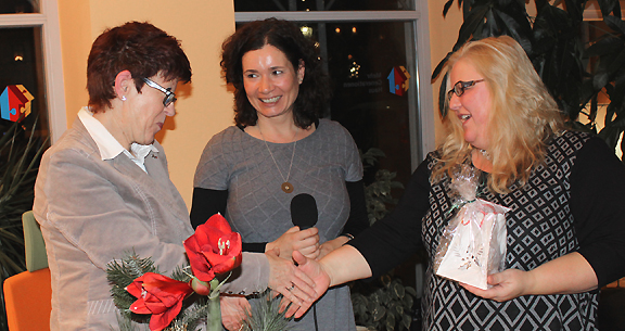 v.l.: Helga Rohra, Dorith Böhm-Näder und Gudrun Greger
