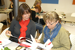 Frauen Mittendrin: Sonja Lutz (rechts) und Diana Höchner-Rückert
