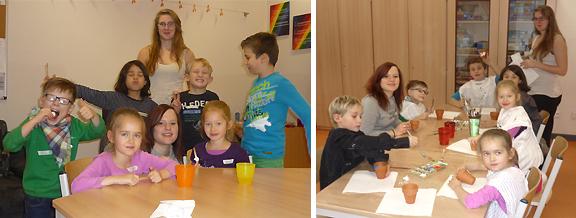 Kinderbetreuung bei unserem Kooperationspartner Uponor