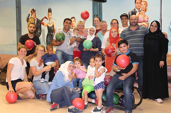 Let's Bowl - Sommeraktion im Sprachcafé