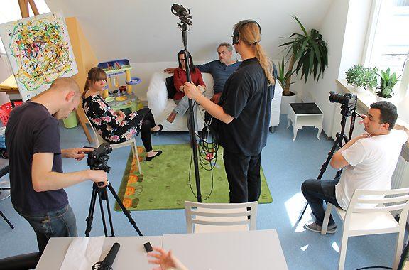 Filmteam zu Besuch im MGH