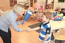 Fit für den Schulbeginn (Foto: Theresa Krapf/MGH)