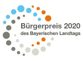 Bürgerpreis 2020 des Bayersichen Landtags für herausragendes ehrenamtliches digitales Engagement