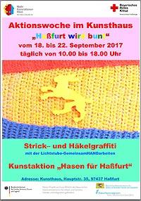 Aktionswoche Haßfurt wird bunt 2017