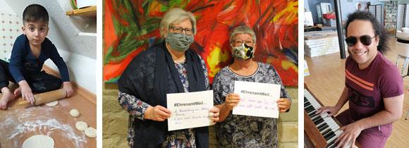 Aktionswoche des bürgerschaftlichen Engagements 2020 (Fotos: MGH Haßfurt)