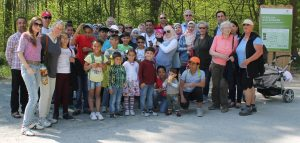 Ausflug zum Baumwipfelplad