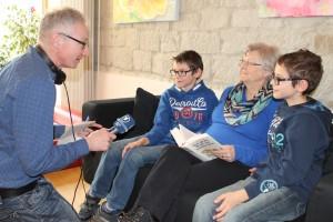 Radiobeitrag Bildungspatenschaften: Norbert Steiche im Gespräch mit Rita Wohlleben
