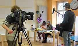 Das Bayerische Fernsehen zu Gast im MGH Haßfurt