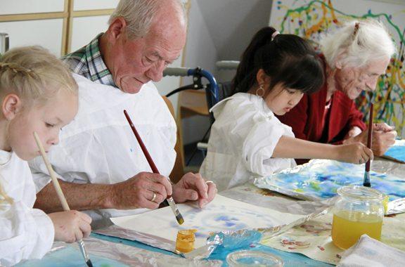 Demenz mittendrin - Lokale Allianzen für Menschen mit Demenz
