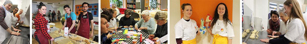 """Lernen durch Engagement: Schülerinnen und Schüler der Heinrich-Thein-Schule Haßfurt im MGH-Projekt """"MACH MIT ─ Interkulturelles Füreinander"""""""