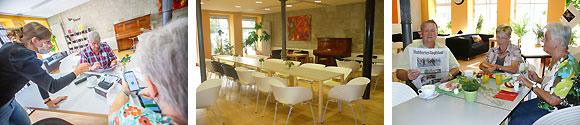 """Café Bistro """"Offener Treff"""" (Fotos: René Ruprecht und MGH-Team)"""