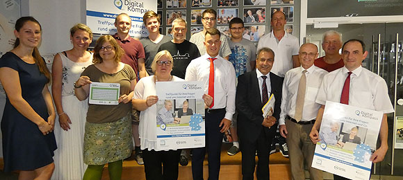 MGH Haßfurt als Digital-Kompass-Standort ausgezeichnet (Foto: Christian Licha)