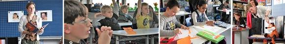 """Lernen durch Engagement: Schülerinnen und Schüler der Grundschule Ebern im MGH-Projekt """"Alt werden - vergessen - Demenz"""""""