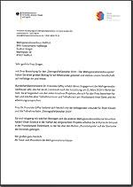 Anschreiben zum Mehrgenerationenhäuserpreis DemografieGestalter_2019