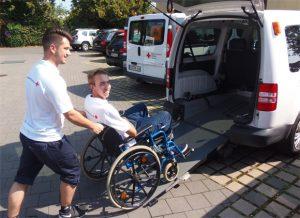 BRK Fahrdienst (Rollstuhl)