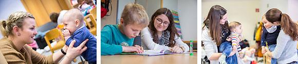 MGH-Familienbildungsstätte (Fotos: René Ruprecht u. MGH Haßfurt)