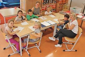 Fit für die Schule mit Silben und Reinen