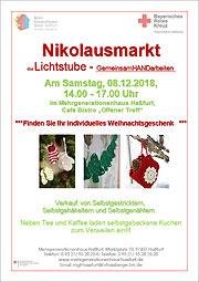 Download: Flyer: Lichtstube beteiligt sich am Nikolausmarkt der Stadt Haßfurt