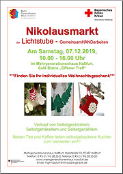 Download: Flyer: Nikolausmarkt der Lichtstube