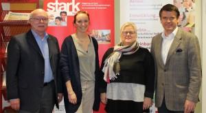 Zuwendung aus Sonderprogramm: Dieter Greger, Simone Geruschke, Gudrun Greger, Steffen Vogel