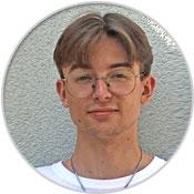 MGH-Team: Jonas Kolb, Bundesfreiwilligendienstleistender ab Sept. 2021