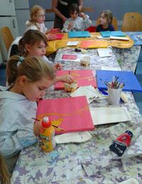 Kinderhotel Künstlerinnenatelier