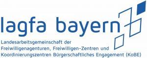 Logo der lagfa Bayern e.V.