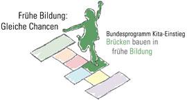 """Logo Bundesprogramm """"Kita-Einstieg: Brücken bauen in frühe Hilfen"""""""