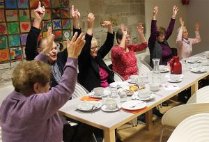 Musikkaffee in Zusammenarbeit mit der Aktion Gesundheitsregion Plus Landkreis Haßberge