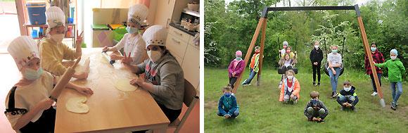 Kulinarischer Ferienspaß - MGH-Pfingstferienprogramm 2021 (Fotos: Silke Heim, BRK-Mittags- und Ganztagsbetreuung)