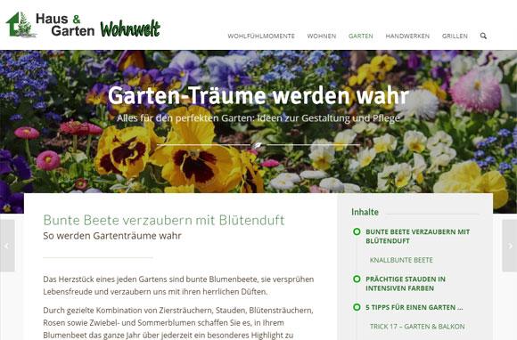 Haus-Garten-Wohnwelt: Gartenträume werden wahr