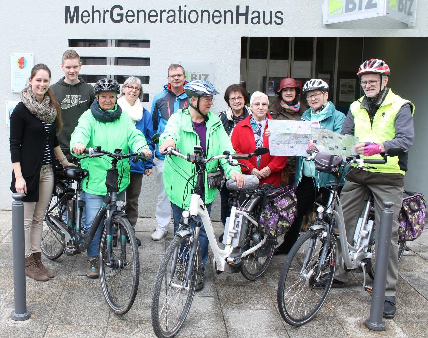 """Kardiologe Dr. Schorb und seine Radler sind startklar zur """"Bewegung 2.0"""" - Mit dem E-Bike durch die Haßberge"""