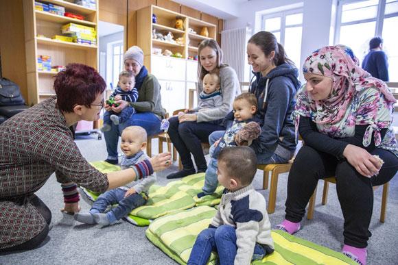 Interkulturelles Elterncafé (Foto: René Ruprecht)