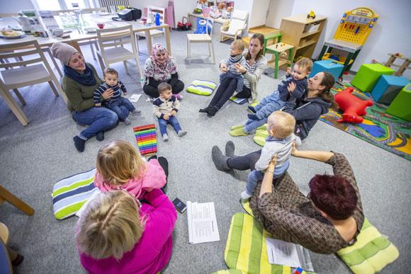 Begleiteter Elterntreff (Foto: René Ruprecht)