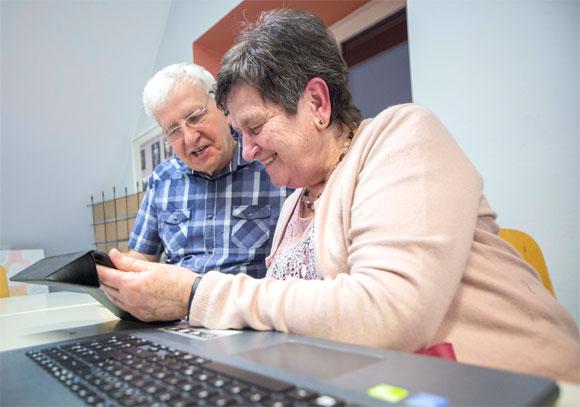 Zurechtfinden in der digitalen Welt: Beim MGH Computer-Mittwoch finden Sie Hilfe (Foto: René Ruprecht / MGH, Januar 2020)