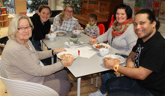 Start ins neue Jahr: MGH-Sprachcafé