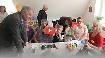 Video: Horst Seehofer zu Besuch im MGH Haßfurt