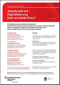 Download Flyer: Arbeitswelt 2.0 - Digitalisierung ... und wo bleibt Frau?